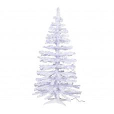 Home 5ft Fibre Optic Christmas Tree - White