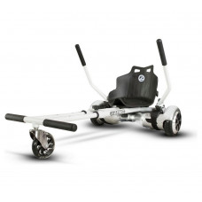 Zinc Smart Kart - White & Black (No Plastic Wedges)