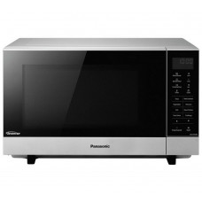 Panasonic NN-SF464M Standard Flatbed Microwave - Silver