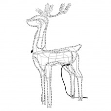 3D Static Light Up Reindeer Christmas Decoration