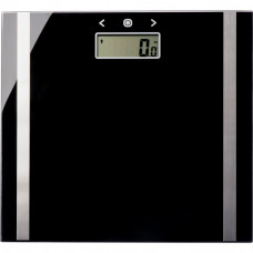 Salter Ultra Slim Glass Body Analyser Scale -  Black