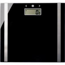 Salter Ultra Slim Glass Body Analyser Scale -  Black
