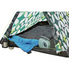 Trespass 2 Man Quick Pitch Tent - Pattern
