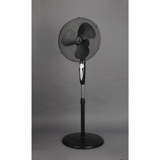 Challenge EH3075 Black Pedestal Fan - 16 inch (No Remote Control)