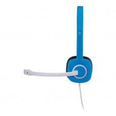 Logitech H150 Stereo Headset - Blue