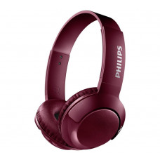 Philips SHB3075 Wireless On-Ear Headphones - Maroon/Red