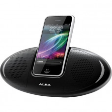 Alba Mini Portable Speaker Dock - Black