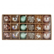 Heart of House 18 Piece Christmas Decoration Pack -Enchanted