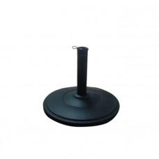 Concrete Garden Parasol Base - Black