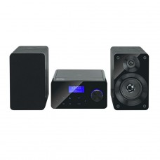Bush Gloss Micro Hi-Fi - Black (No Remote Control)