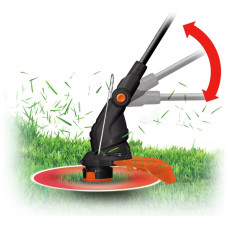Worx WG119E Corded 30cm Electric Grass Trimmer - 550W
