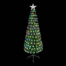 Premier Decorations 3ft Multi-Colour LED Christmas Tree -Green
