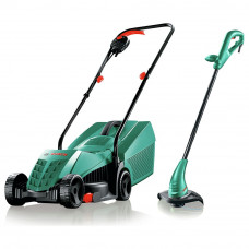 Bosch Rotak Corded Mower and Grass Trimmer - Twin Pack