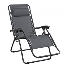 Home Garden Lounger - Grey