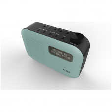 Alba Mono DAB Radio - Mint (No Mains Lead)