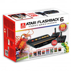 Atari Flashback 6 Classic Game Console & 100 Built-In Games