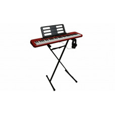 Casio CT-S200RD Keyboard With Stand & Headphones - Red