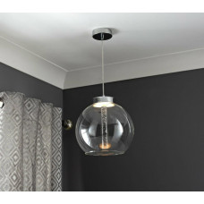 Home Chicago LED Pendant Ceiling Light - Chrome