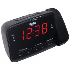 Bush Projection Alarm Clock - Black