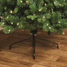 Premier Decorations 7ft Pre-lit Pine Christmas Tree - Green