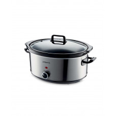 Ambiano 320w Electric Slow Cooker - Silver