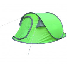 Festival 3 Man 1 Room Pop Up Tent - Green