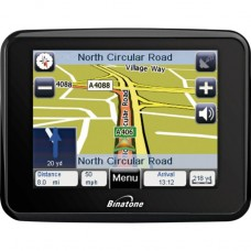 Binatone F350 3.5 Inch UK and ROI Sat Nav - No Charger