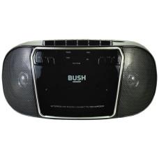 Bush KBB500 CD Radio Cassette Player Boombox - Black & Silver