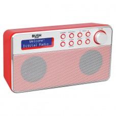 Bush Stereo DAB Radio - Red