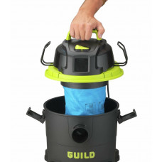Guild 16 Litre Wet & Dry Canister Vacuum Cleaner - 1300W