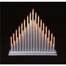 Premier Decorations 33 LED Candlebridge Tower - Silver
