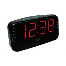 Bush Big LED Alarm Clock Radio - Black