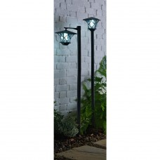 Solar Lamp Posts - Set of 2