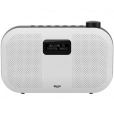 Bush Stereo DAB Radio - White