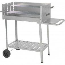 Deluxe Steel Party Trolley Charcoal BBQ