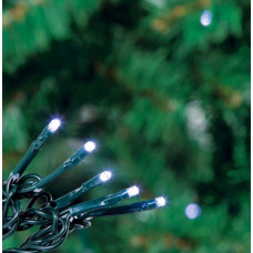 80 Multi-Function LED Christmas Tree Lights - Bright White