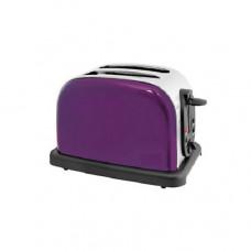 Home Of Style 2 Slice Toaster - Metallic Purple