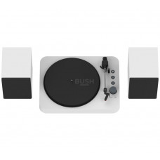 Bush USB Bluetooth Turntable - White (No Spindle Adaptor)