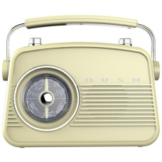 Bush Retro Mini FM Radio - Cream