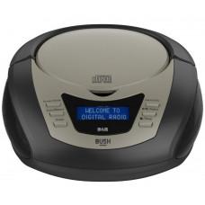 Bush DAB Radio With CD Player Boombox - Black
