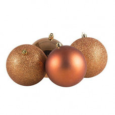 35 Piece Luxury Chrismas Tree Decoration Set - Copper/Bronze