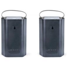 Bush Wireless Waterproof Dual Speakers - Black