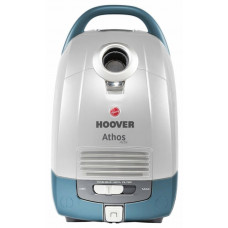 Hoover Athos Activ 5L Cordless Bagged Cylinder Vacuum Cleaner - Grey