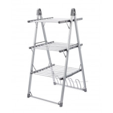 Easy Home 3 Tier Heated Airer With Shoe Rack