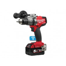 Milwaukee M18ONEPD2-502X 18v Fuel One-Key Combi Drill With 2 Batteries