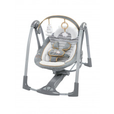 Ingenuity Swing 'N Go Bella Teddy Portable Swing