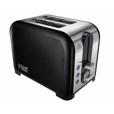 Russell Hobbs Canterbury Toaster - Black