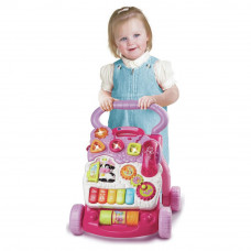 VTech First Steps Baby Walker - Pink (No Phone)