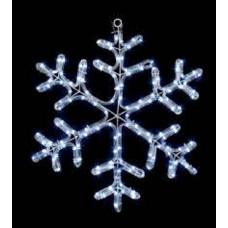 Premier 60cm Twinkling Christmas Snowflake Rope Light
