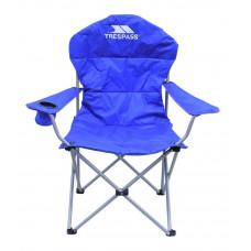 Trespass High Back Padded Camping Chair - Blue